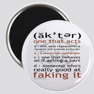 Actor (ak'ter) Meaning Magnet