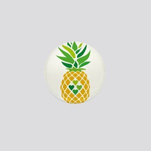Pineapple Love Mini Button