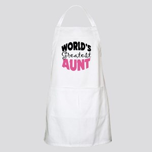 World's Greatest Aunt Apron