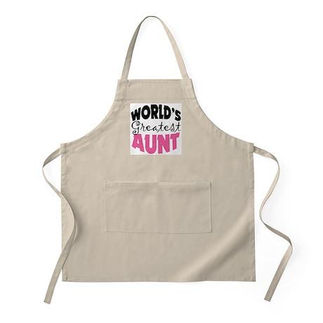 World's Greatest Aunt Apron