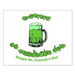 Happy St. Pat's CC Small Poster