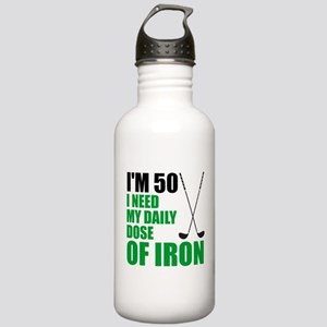 50 Daily Dose Of Iron Water Bottle