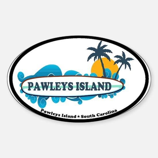 Pawleys Island SC Sticker (Oval)