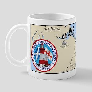 Scotland-England Tour Mugs
