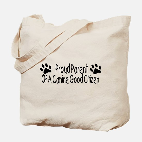 Canine Good Citizen Tote Bag