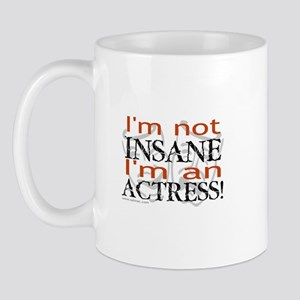 Insane actress Mug