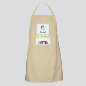 """MBM """"all Halal, all the time"""" Apron"""