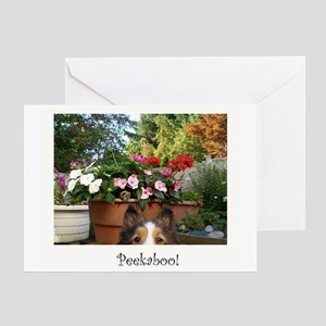 Peekaboo Greeting Card