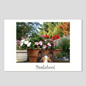 Peekaboo Postcards (Package of 8)