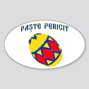 Romanian Easter 2 Sticker (Oval)