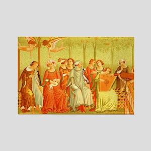 Ladies of Renaissance Rectangle Magnet