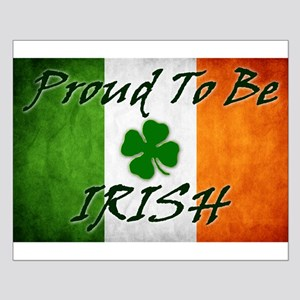 Proud to be IRISH Small Poster