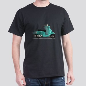 Turquoise Scooter T-Shirt