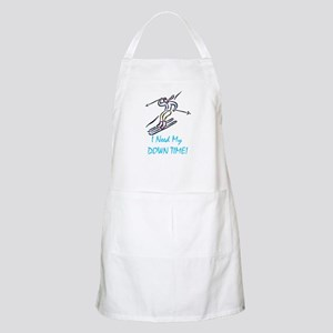 I Need My Down Time! Apron