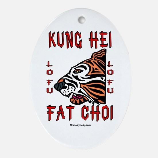 Kung Hei Fat Choi Ornament (Oval),Hong Kong