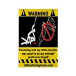 WARNING magnet