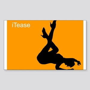 iTease Rectangle Sticker