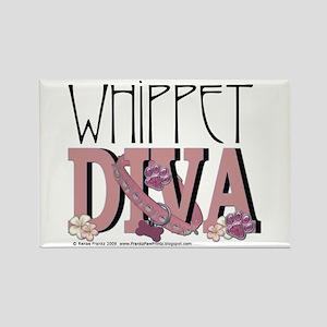 Whippet DIVA Rectangle Magnet
