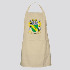Peers Family Crest - Coat of Arms Light Apron