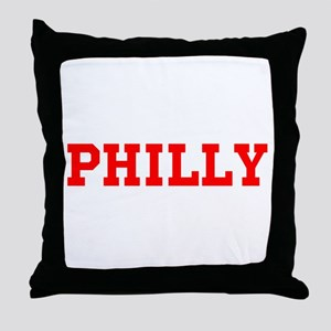PHILA #1 Throw Pillow