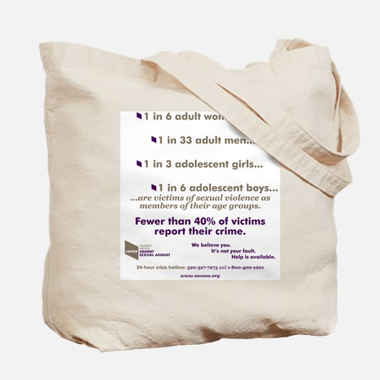 Shatter the Silence Tote Bag