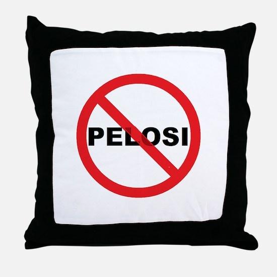Anti Pelosi Throw Pillow