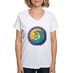 Tidal Dog Women's V-Neck T-Shirt