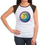 Tidal Dog Women's Cap Sleeve T-Shirt