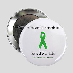 Heart Transplant Survivor Button