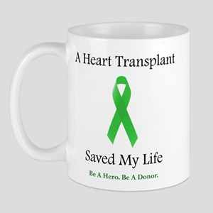 Heart Transplant Survivor Mug
