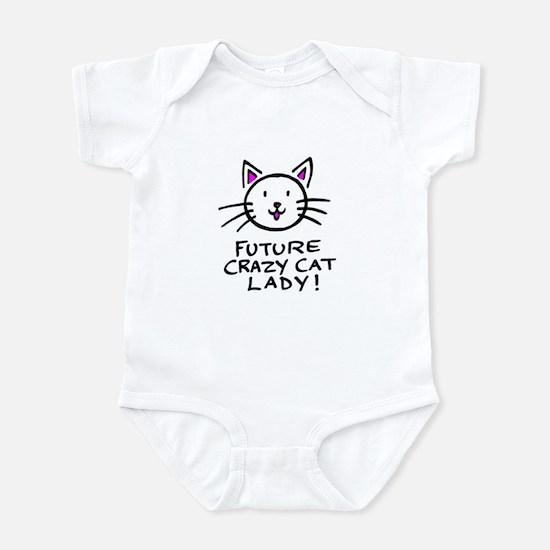 Future Crazy Cat Lady Infant Bodysuit