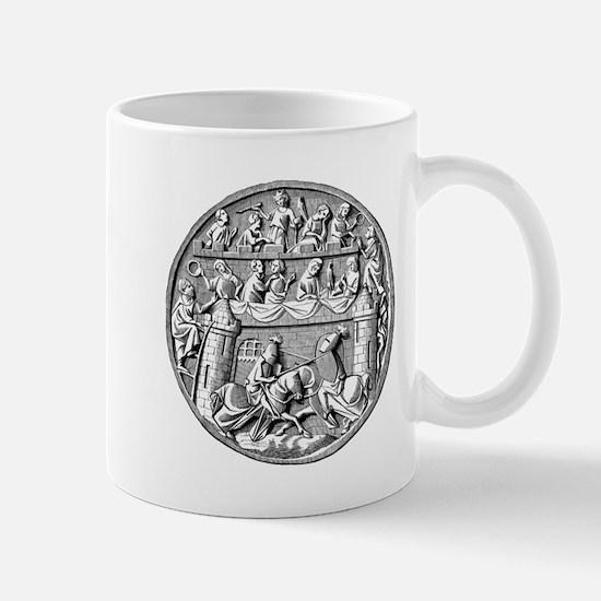 Jousting Knights Mug