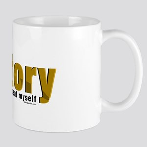 Brown Repeat History Mug