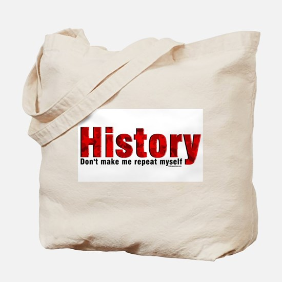 Repeat History Red Tote Bag