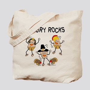 History Rocks Tote Bag