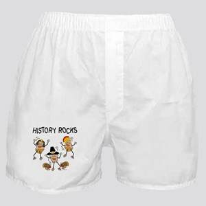 History Rocks Boxer Shorts