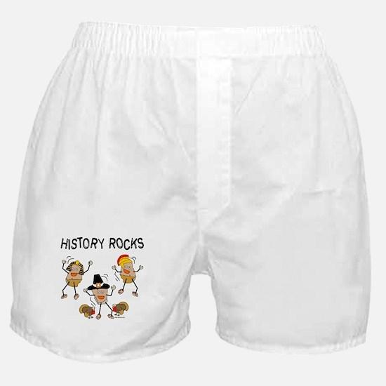 History Rocks Boxer Shorts