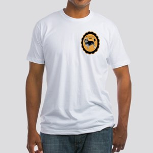 Lowchen Dad Fitted T-Shirt