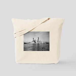 USS Nevada Ship's Image Tote Bag