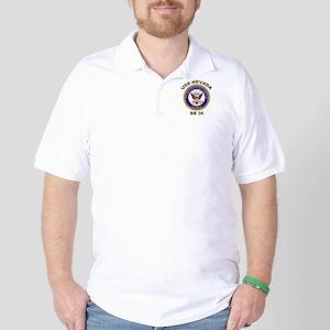 USS Nevada BB 36 Golf Shirt