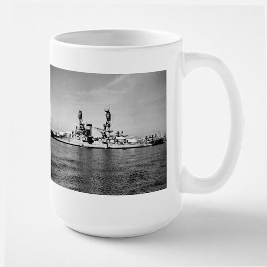 USS Nevada Ship's Image Large Mug