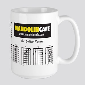 Large Guitar Chord Coffee Mug