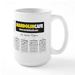 Large Guitar Chord Coffee Mug