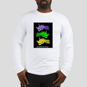 Unicorn Mask Long Sleeve T-Shirt