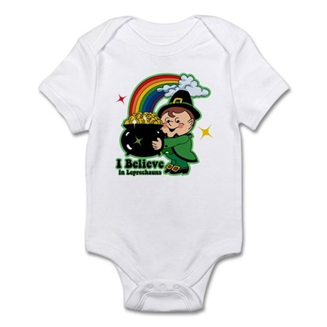 Believe In Leprechauns Infant Bodysuit