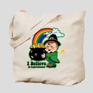 Believe In Leprechauns Tote Bag