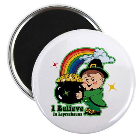 Believe In Leprechauns Magnet
