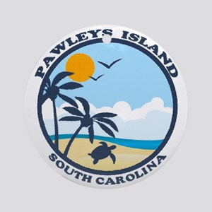 Pawleys Island SC - Beach Design Ornament (Round)