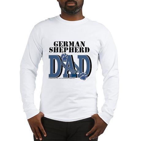 German Shepherd DAD Long Sleeve T-Shirt