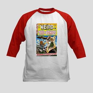 Weird Tiki Comics #1 Kids Baseball Jersey